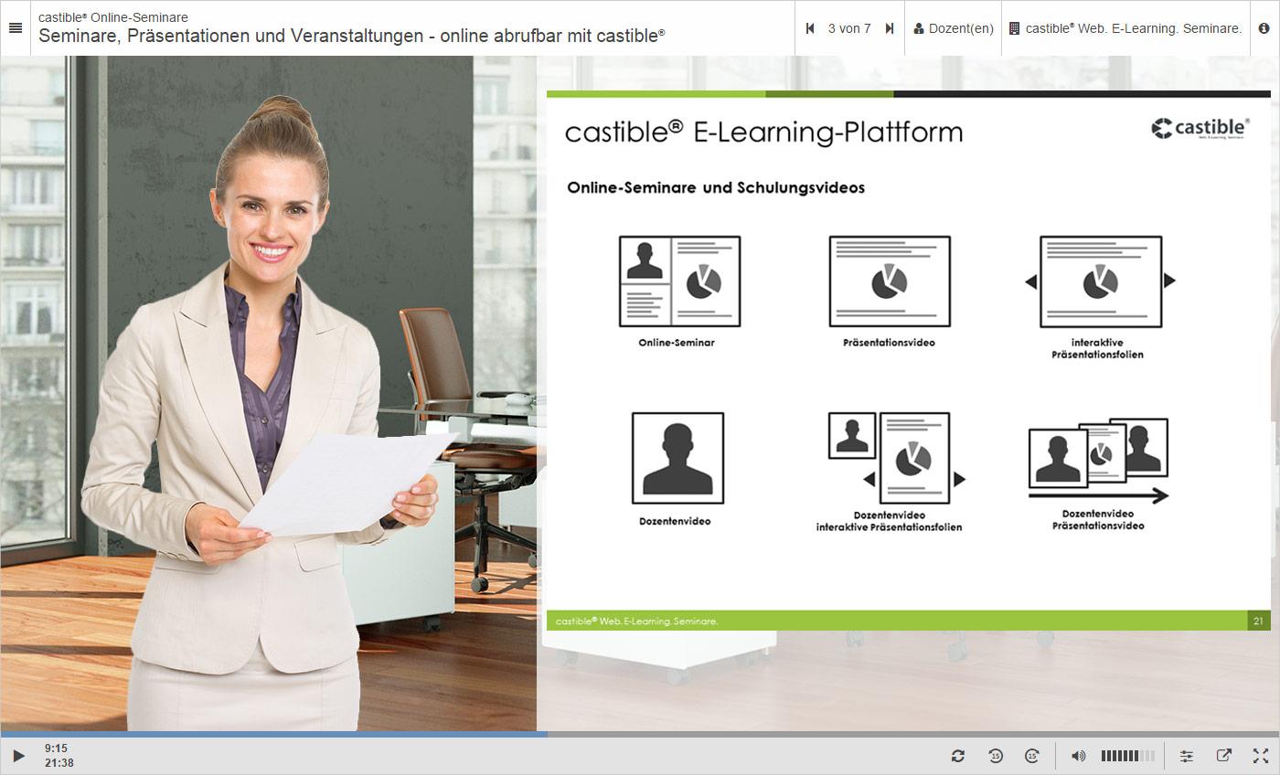 Demo castible® Online-Seminar